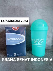 Immunocal 1 Box isi 10 Sachet Free gelas shaker